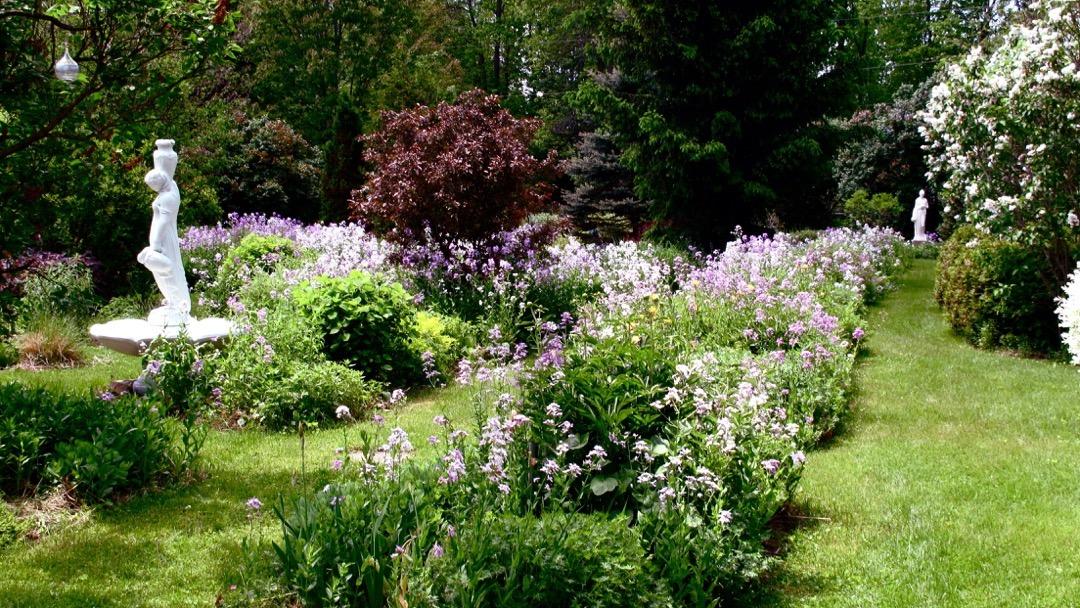 Statues et jardins