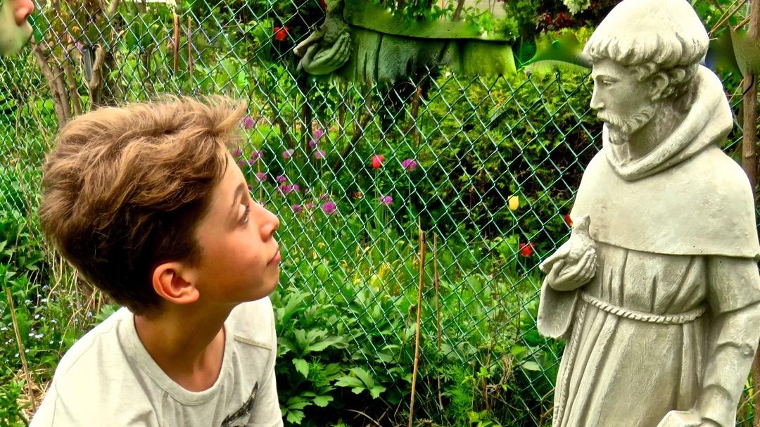 Jardin matériel et immatériel