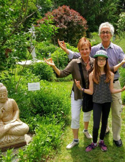 Denise, Yves et Emma